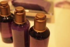 すごく香りもいいオーガニックのアメニティ。スパで使用されているものです。