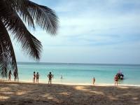 のどかなビーチ風景