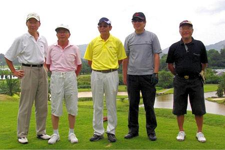 熟年ゴルファーのプーケット4泊5日ゴルフツアー