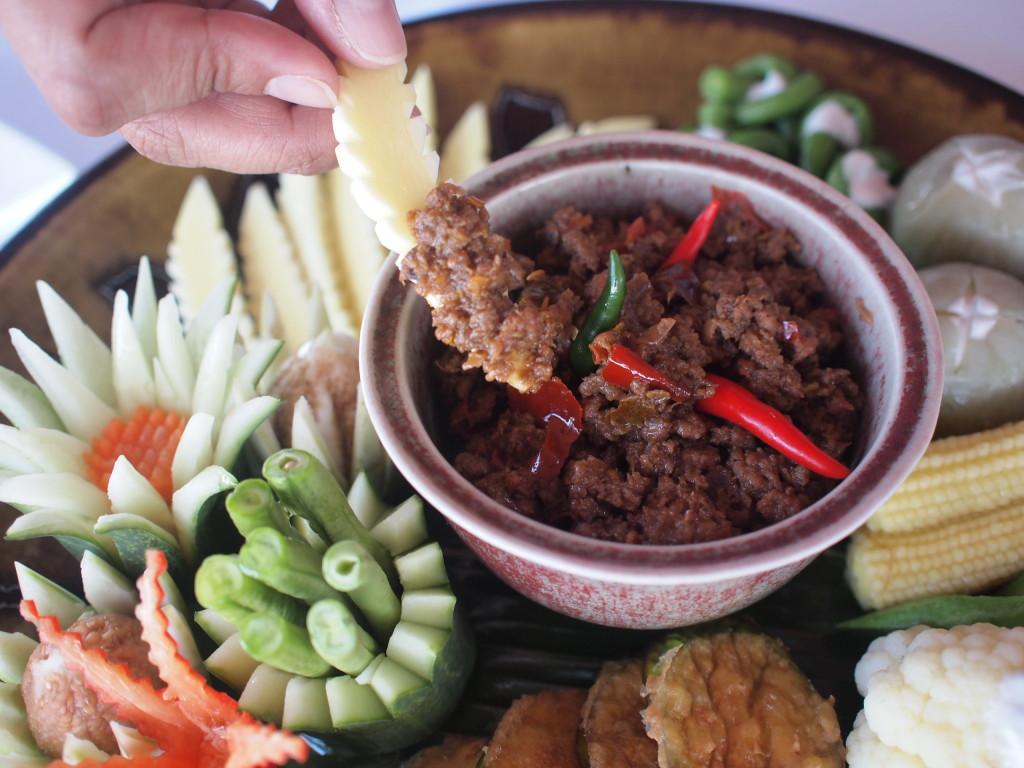 ナムプリックマカーム・タイ南部料理
