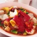 【イェンタフォー】どぎつく赤いスープのお味は?
