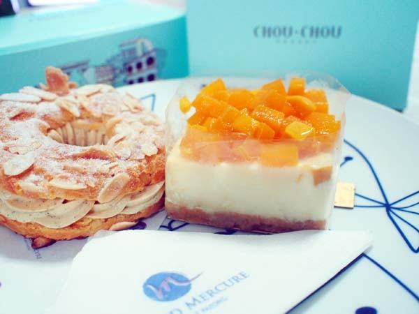 グランドメルキュール・パトンのケーキ
