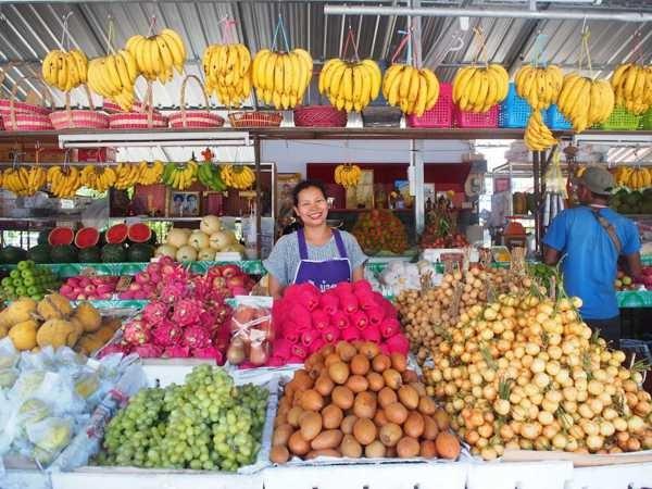 タイのトロピカルフルーツ