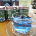 夏にはブルーのハーブティー!アンチャンのお茶