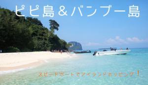ピピ島バンブー&島日帰りツアー