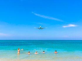 プーケット 飛行機ビーチ
