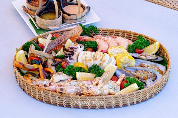 Holiday inn Resort Phuket Seafood basket