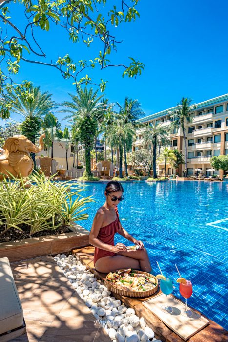 Holiday inn Resort Seafood basket Phuket
